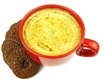 红色咖啡杯 图库摄影