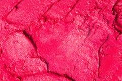 红色唇膏纹理 库存图片