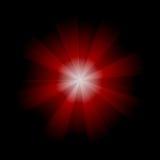 红色固体 库存图片