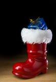 红色圣诞老人起动 库存图片