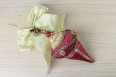 红色圣诞节装饰品3 免版税图库摄影