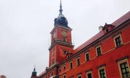 红色城堡 免版税库存图片