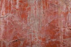 红色墙壁背景,纹理 库存图片