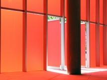 红色墙壁 免版税库存图片