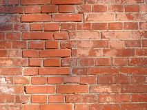 红色墙壁 库存图片