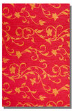 红色墙纸背景 库存照片