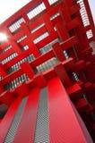 红色大厦 库存照片