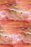 红色大理石-无缝的抽象背景 库存照片