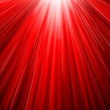 红色太阳疾风 库存照片
