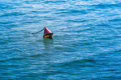 红色安全浮体 免版税图库摄影