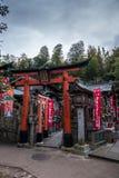 红色寺庙 图库摄影