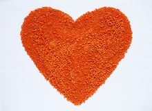 红色小扁豆背景健康生活方式 库存照片