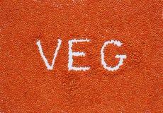 红色小扁豆背景健康生活方式 免版税库存照片