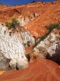 红色小河越南 免版税图库摄影