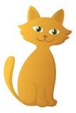 红色小猫 免版税库存照片