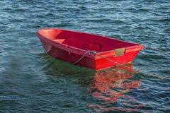 红色小船 图库摄影