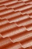 红色屋顶的样式 免版税库存图片