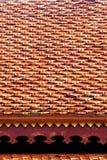 红色屋顶纹理 库存照片
