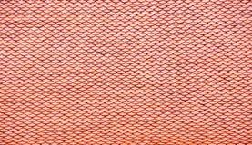 红色屋顶 图库摄影