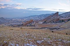 红色岩石公园科罗拉多 库存照片