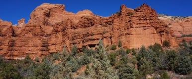 红色岩石国家公园, Sedona 免版税库存图片