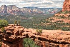 红色岩石国家公园,sedona,亚利桑那,美国 图库摄影