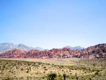 红色岩石国家公园 免版税库存图片