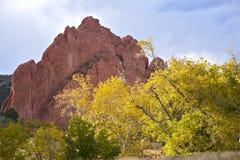 红色岩石在科罗拉多 免版税图库摄影