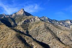红色岩石峡谷全国保护地区 库存图片