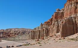 红色岩石峡谷国家公园加利福尼亚美国 免版税图库摄影