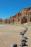 红色岩石峡谷国家公园加利福尼亚美国 免版税库存图片