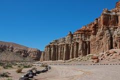 红色岩石峡谷国家公园加利福尼亚美国 库存照片