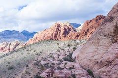 红色岩石峡谷,内华达。 免版税库存图片