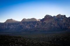 红色岩石峡谷12 免版税图库摄影