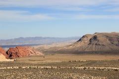 红色岩石峡谷 免版税库存照片