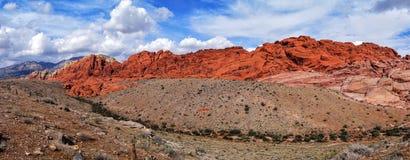 红色岩石峡谷 免版税库存图片