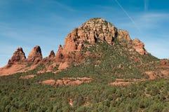 红色岩石景色在Sedona亚利桑那 免版税库存图片