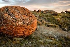 红色岩石自然Coulee 免版税库存照片