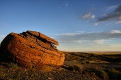 红色岩石自然Coulee 免版税库存图片