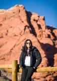 红色岩石, NV 免版税图库摄影