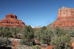 红色岩石, Sedona亚利桑那 免版税库存照片