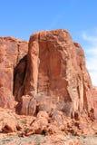 红色岩石 免版税库存照片