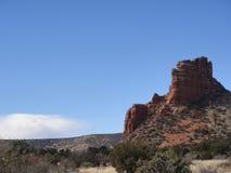 红色岩石1 库存图片