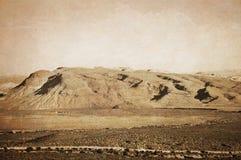 红色岩石 库存照片