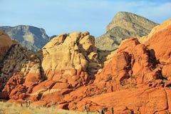 红色岩石2 免版税库存照片