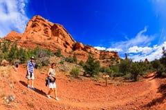 红色岩石sedona 图库摄影