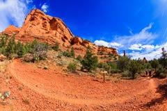 红色岩石sedona 库存照片