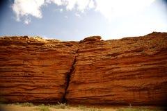 红色峡谷 图库摄影
