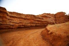 红色峡谷 免版税图库摄影