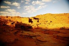 红色峡谷 库存照片
